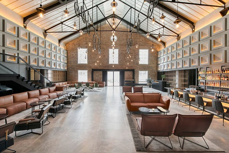 Warehouse hotel, the perfect blend of elegant and industrial design