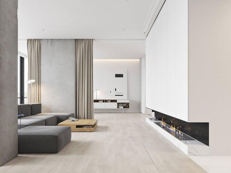 Home designed in a minimalist style in Budva