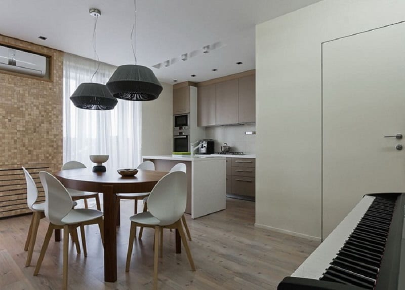 Cozy And Open Apartment With Eco Materials