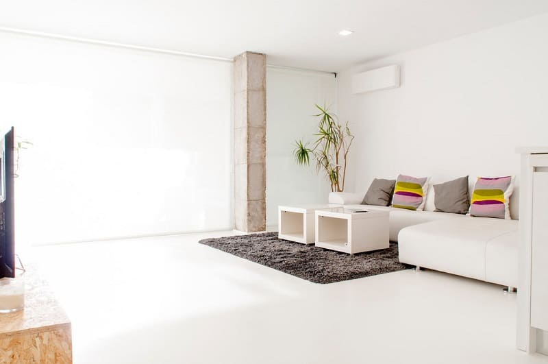 Apartment with bright interior in Valencia