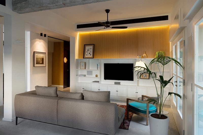 Elegant apartment in Bauhaus style