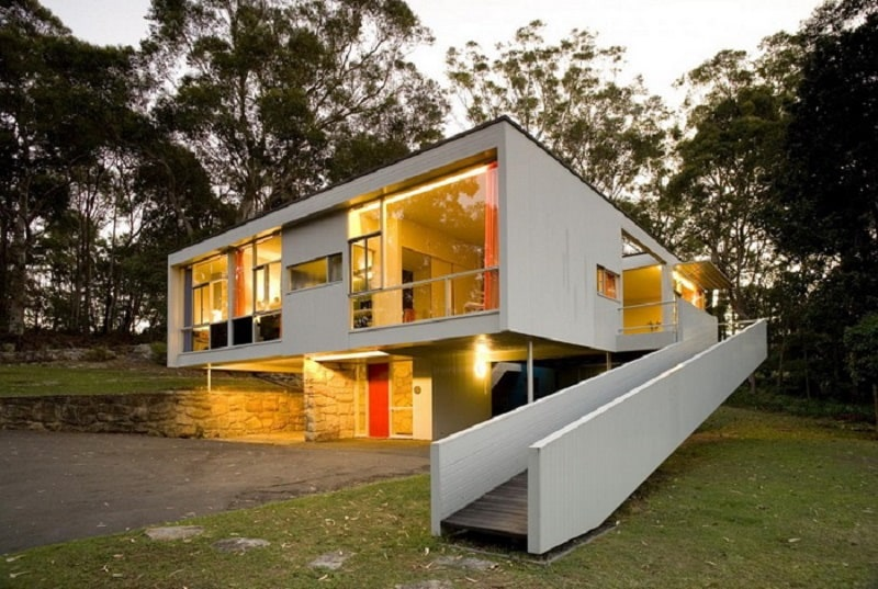 Rose Siedler House, the architectural pearl of Harry Siedler in Sydney