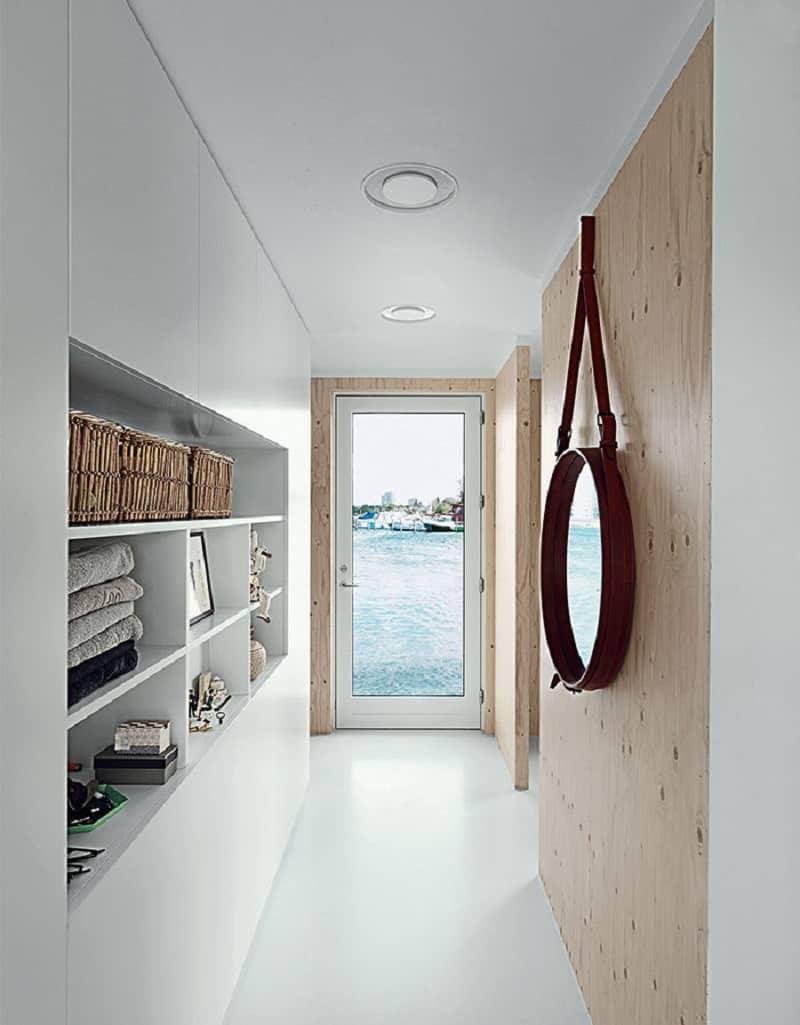 A Modern House On Water In Copenhagen