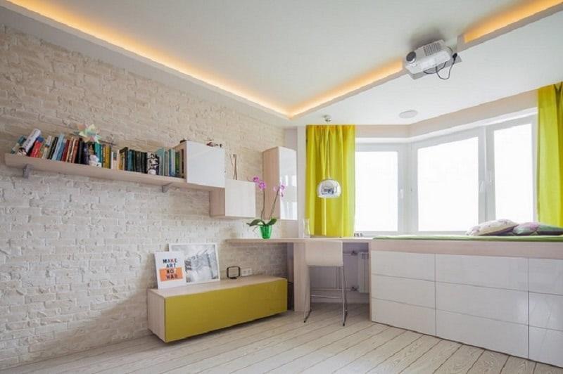 Bright and vibrant 42-square meter apartment