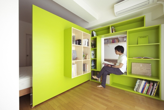 Switch Apartment in Japan 7