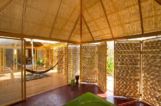 bamboo house bedroom design by benjamin garcia saxe