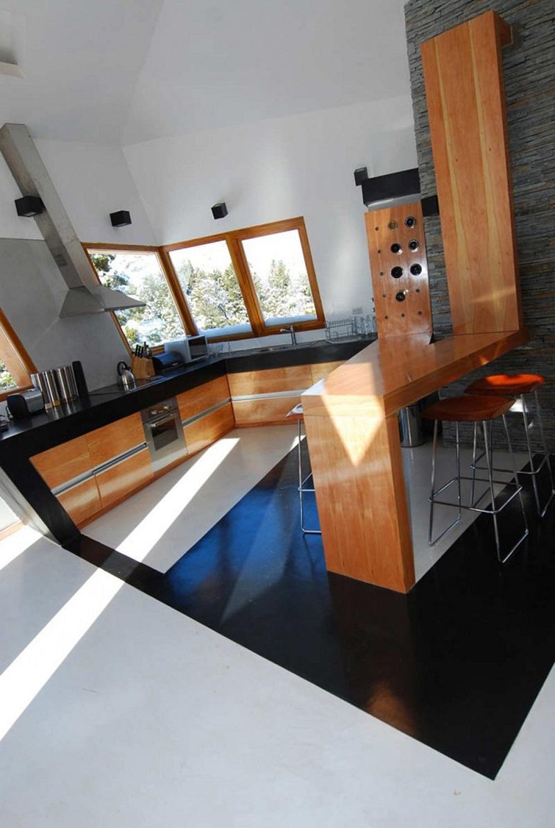Ribbon House minimalist kitchen