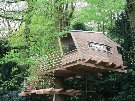 Treehouses by Baumraum exterior