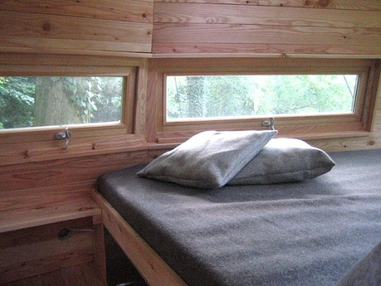 treehouses bed Baumraum