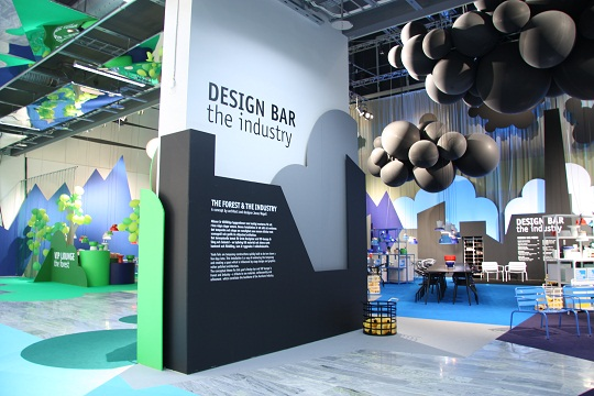 Design Bar By Jonas Wagell at Stockholm Furniture Fair