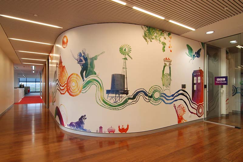 BBC Worldwide Office Sydney interiors by Thoughtspace 5