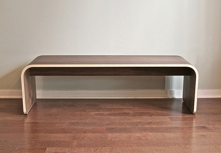 Botanist All Wood Bench by Dario Antonioni 1