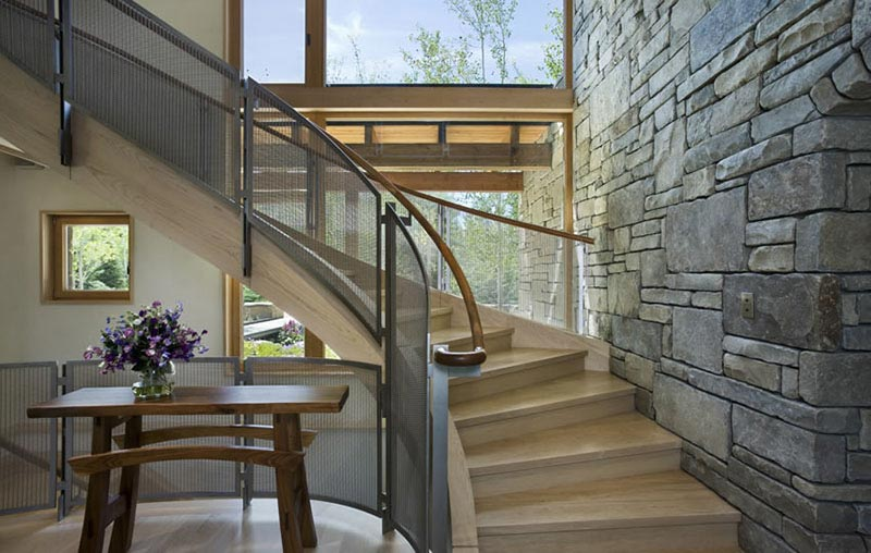 Staircase design in John Dodge Compound