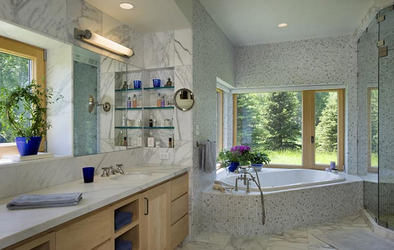 John Dodge Compound bathroom design