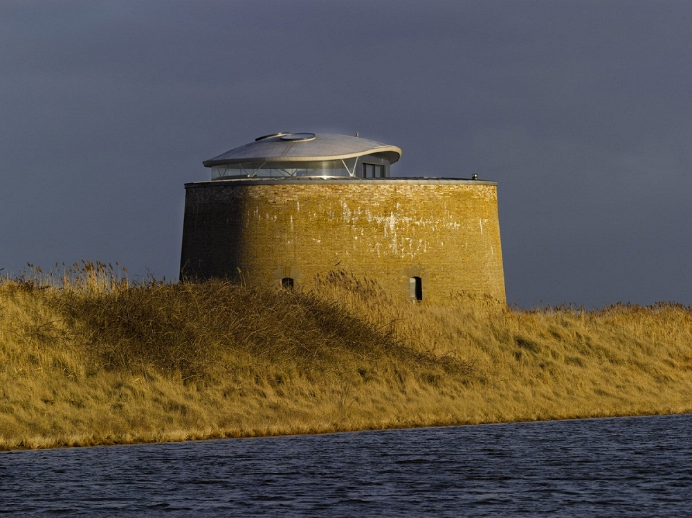 Ancient defense fortress Martello Tower Y 1