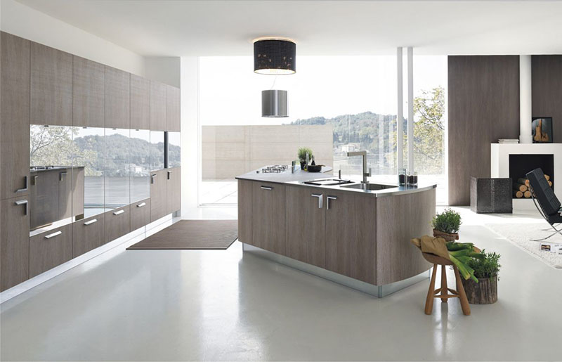 Milly modular kitchen by Stosa Cucine 1