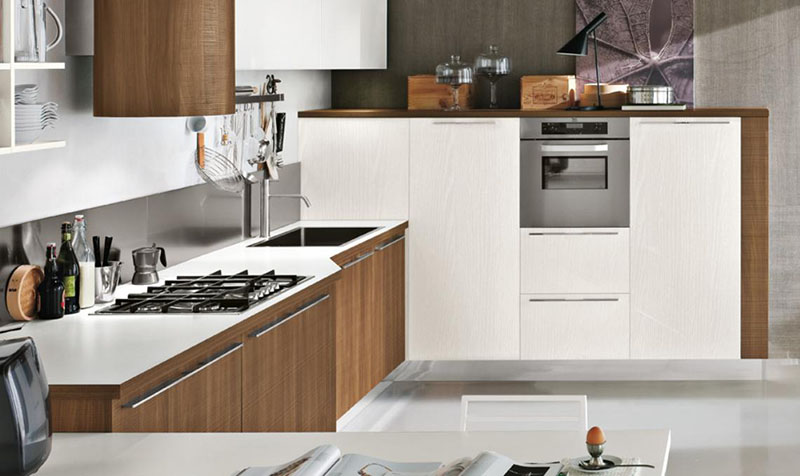 Milly modular kitchen by Stosa Cucine 10