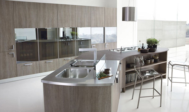 Milly modular kitchen by Stosa Cucine 2