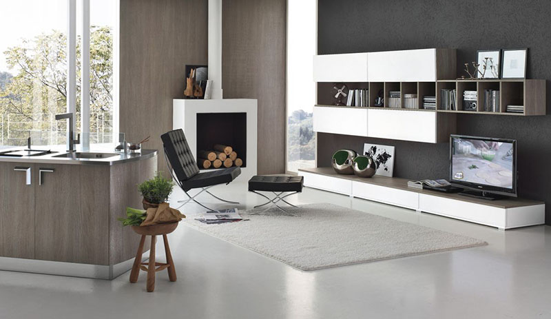 Milly modular kitchen by Stosa Cucine 3