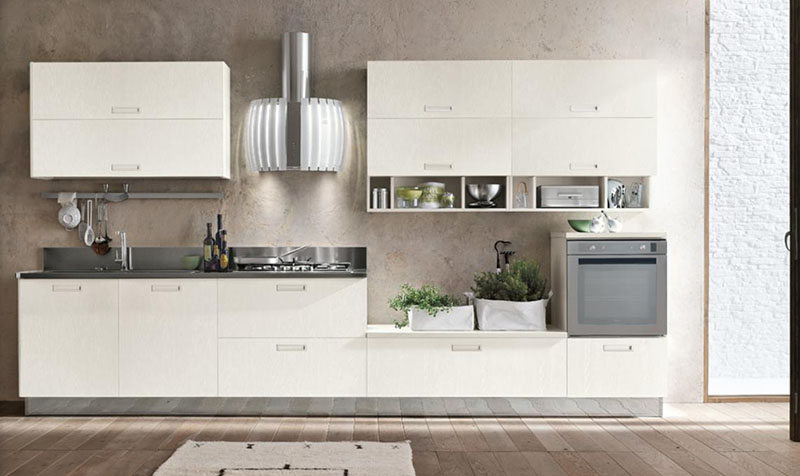 Milly modular kitchen by Stosa Cucine 5
