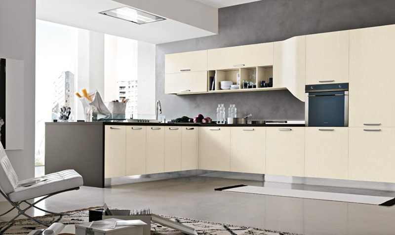 Milly modular kitchen by Stosa Cucine 6