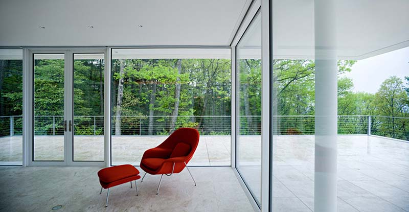 Olnick Spanu House reading room 1