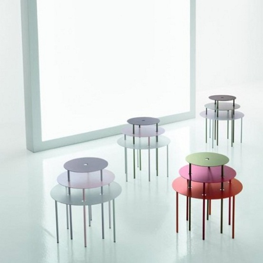 Qui Pro Quo flexible table by Gino Carollo 2