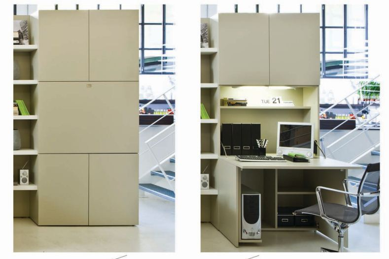 Space saving design from Resource Furniture