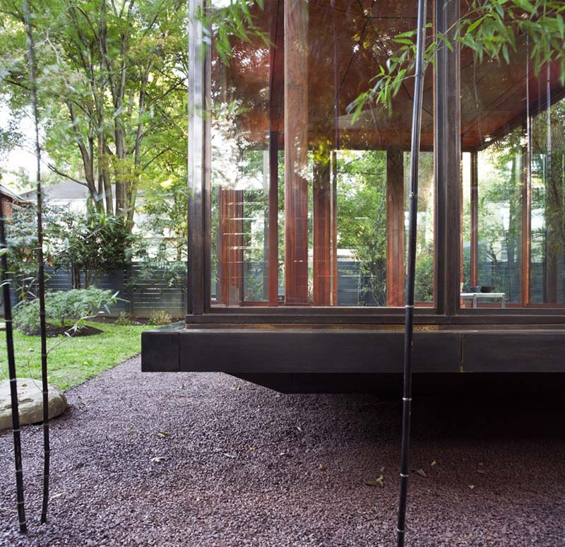 Japanese Style Tea house by David Jameson Architect 3