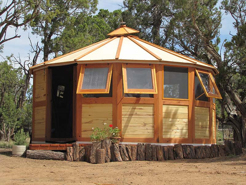 Portable Wooden House Turtleback Nomadic Yurts Find modern home decor and design ideas inspired by these traditional round tent. turtleback nomadic yurts