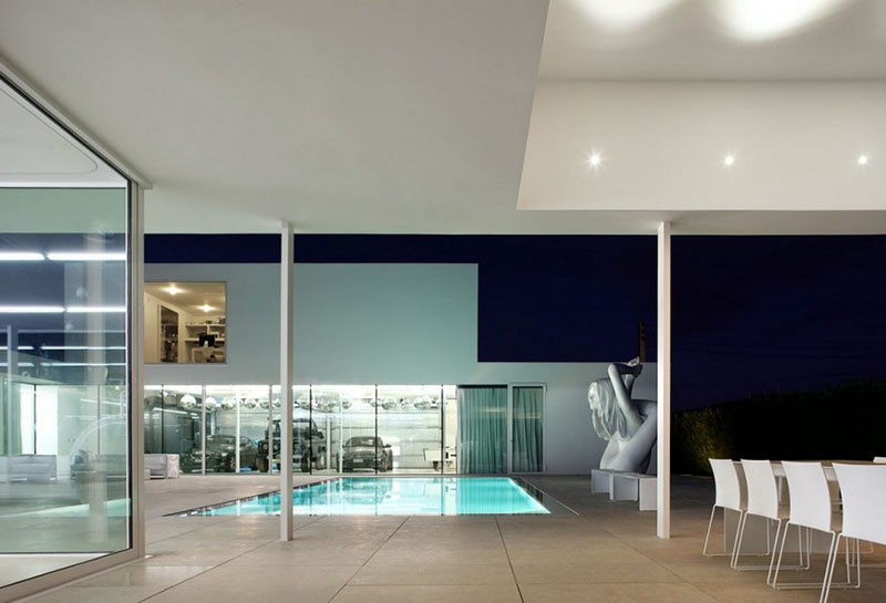 Villa V in T by Beel & Achtergael Architects 10