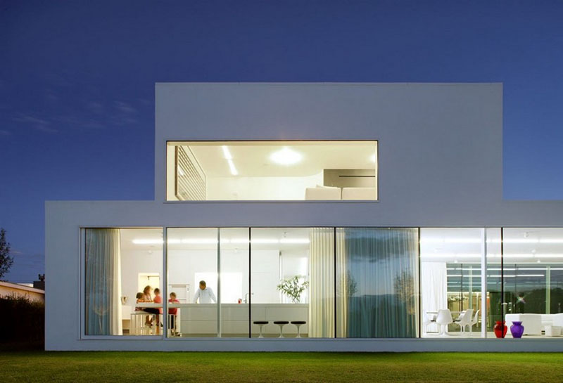 Villa V in T by Beel & Achtergael Architects 6