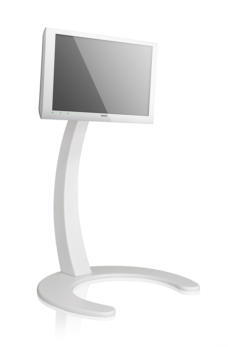 Xelo LCD TV Stand by Paxon in white color