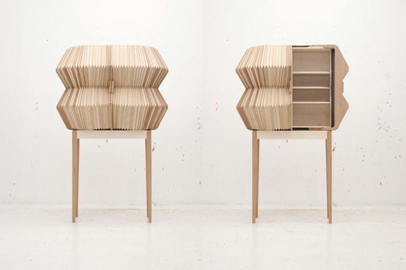 Accordion Cabinet by Elisa Strozyk and Sebastian Need 2