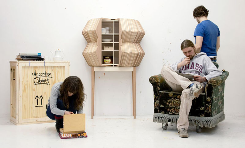 Accordion Cabinet by Elisa Strozyk and Sebastian Need 4