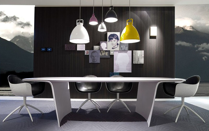 Futuristic Dining Table Air by Poliform 1