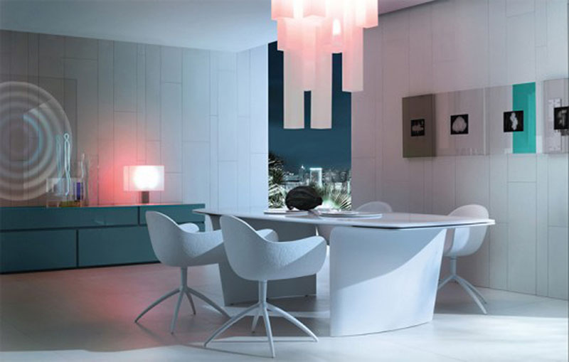 Futuristic Dining Table Air by Poliform 3
