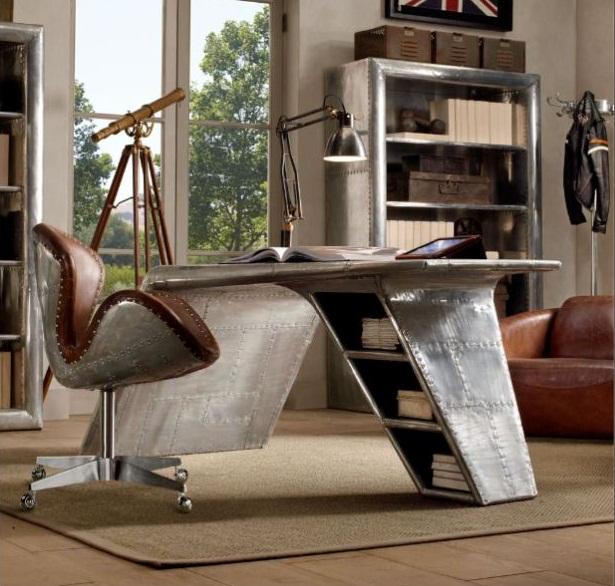 Aviator Wing Desk 7