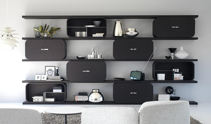 Cocoon Storage Shelf System by Ideal Form Team 1
