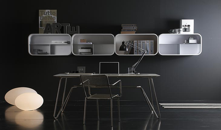 Cocoon Storage Shelf System by Ideal Form Team 2