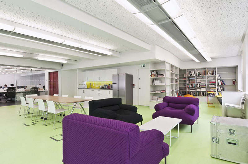 Dentsu London office interiors by Essentia Designs 1