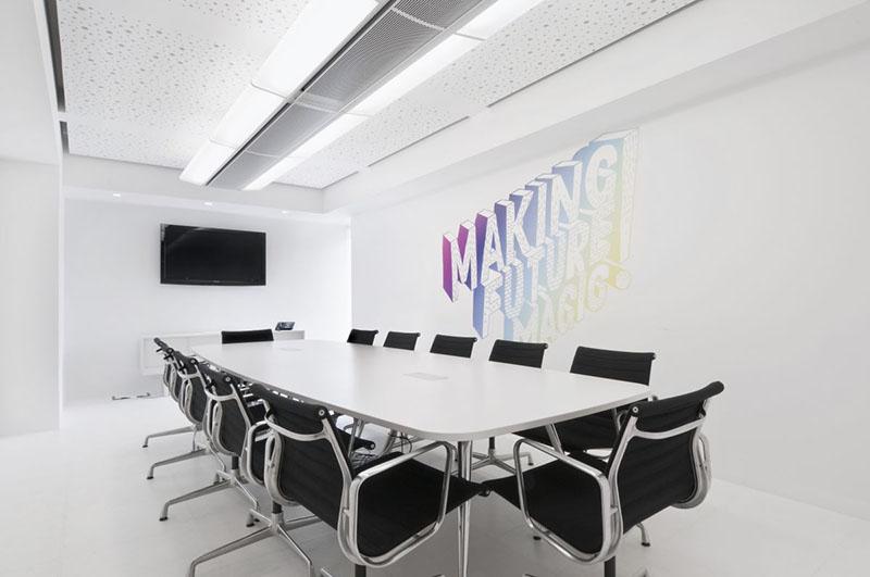 Dentsu London office interiors by Essentia Designs 10