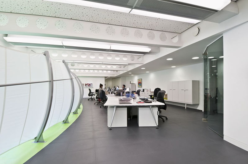 Dentsu London office interiors by Essentia Designs 11