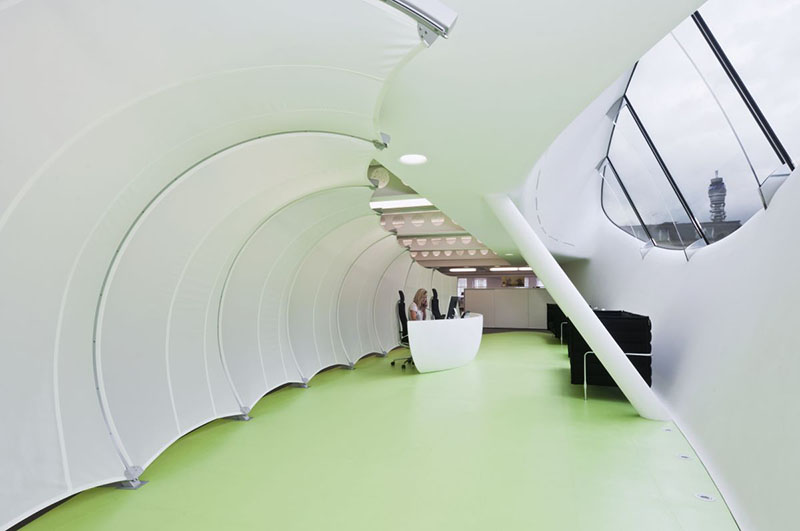 Dentsu London office interiors by Essentia Designs 3