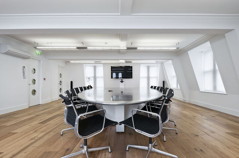 Dentsu London office interiors by Essentia Designs 4