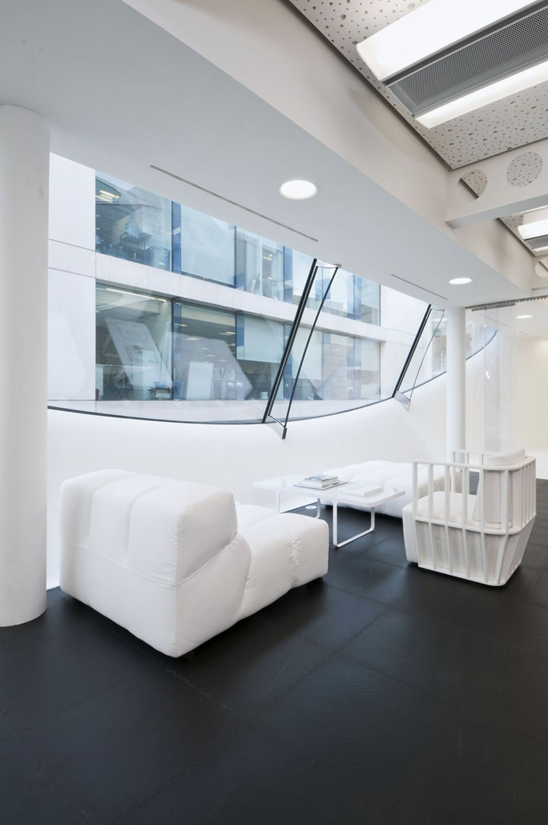 Dentsu London office interiors by Essentia Designs 5