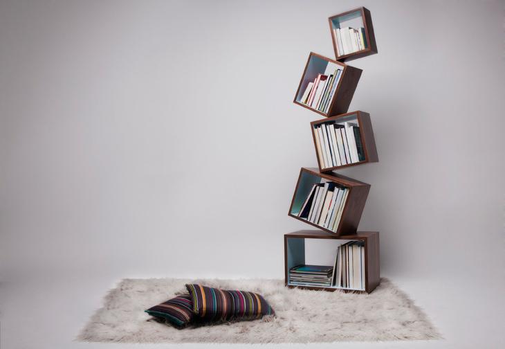 Equilibrium Bookcase Malagana Design 1