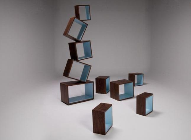 Equilibrium Bookcase Malagana Design 3