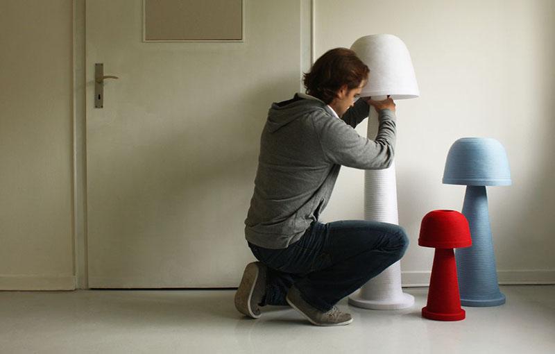 Fungi Lamp by Andreas Kowalewski 2