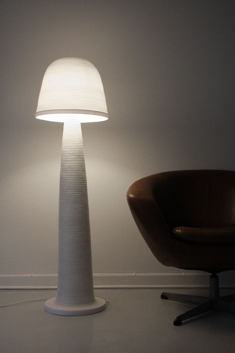 Fungi Lamp by Andreas Kowalewski 4